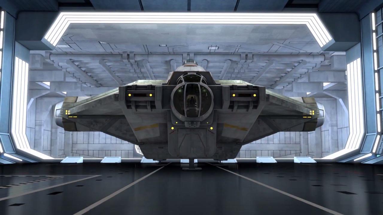 Ghost anakinworld for Interieur vaisseau spatial