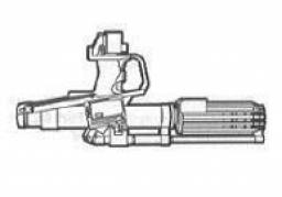 Carabine blaster rotative Underslung