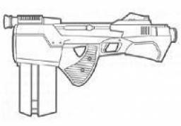 Pistolet Blaster IR-5 Intimidator