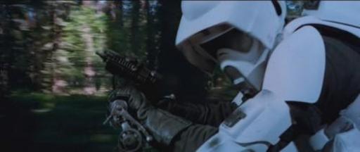 Pistolet Blaster de Scout Trooper.