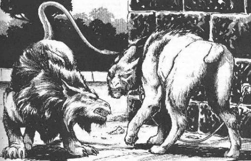 Vornskrs sauvage (à gauche) et dressé (à droite)