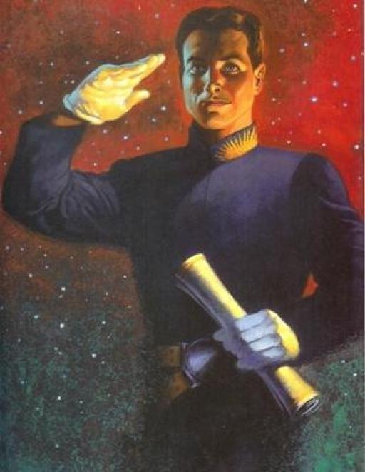 Un cadet de l'Académie de Carida