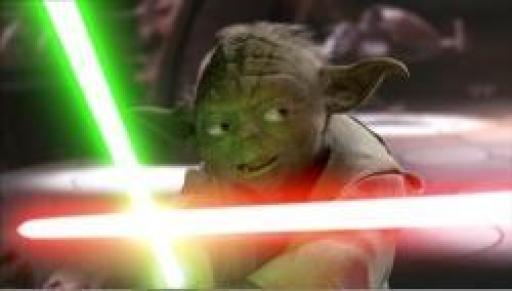 Yoda utilisa les bonds rapides face à Dooku