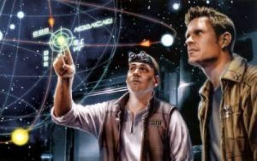 Deux explorateurs galactiques