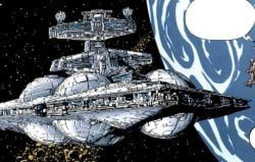 Un Destroyer Stellaire Interdictor