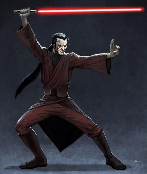Un Maître Jedi Noir
