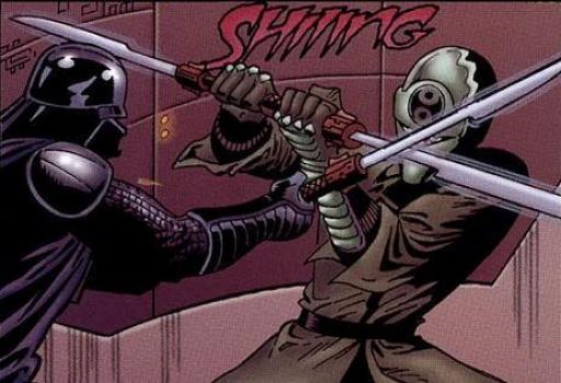 Darth Vader vs. Burr Danid