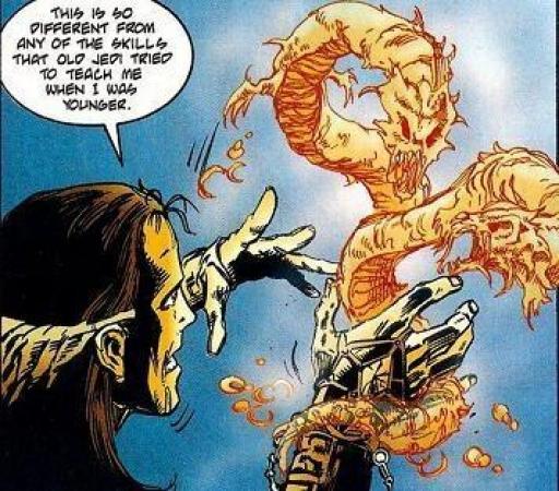 Gav Daragon apprend la Magie Sith