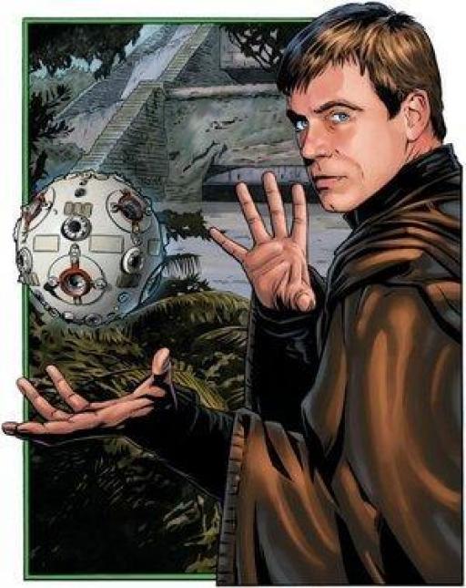Luke Skywalker et le Praxeum de Yavin IV