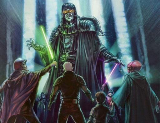 L'esprit d'Exar Kun, confronté à l'alliance des étudiants Jedi
