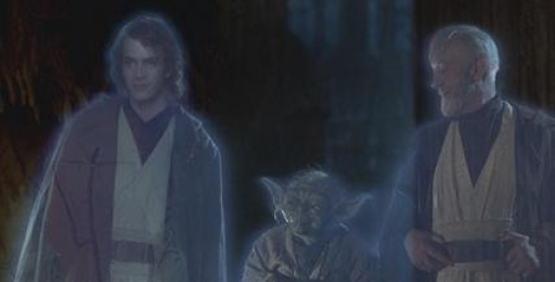 Les Esprits Jedi des proches de Luke