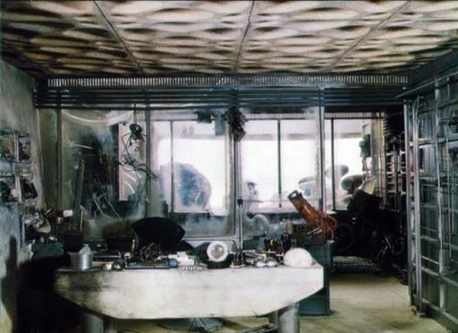 Intérieur de la Station Tosche, peu avant la Bataille de Yavin.