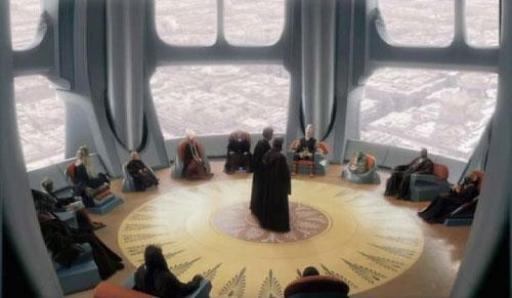Salle du Conseil des Jedi