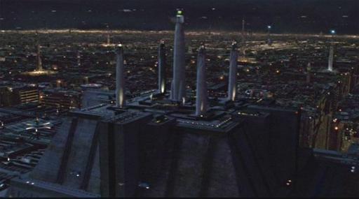Le Temple Jedi de Coruscant