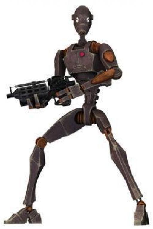 Un Droïde Commando BX.