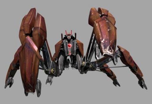 Un Droïde Crabe LM-432.