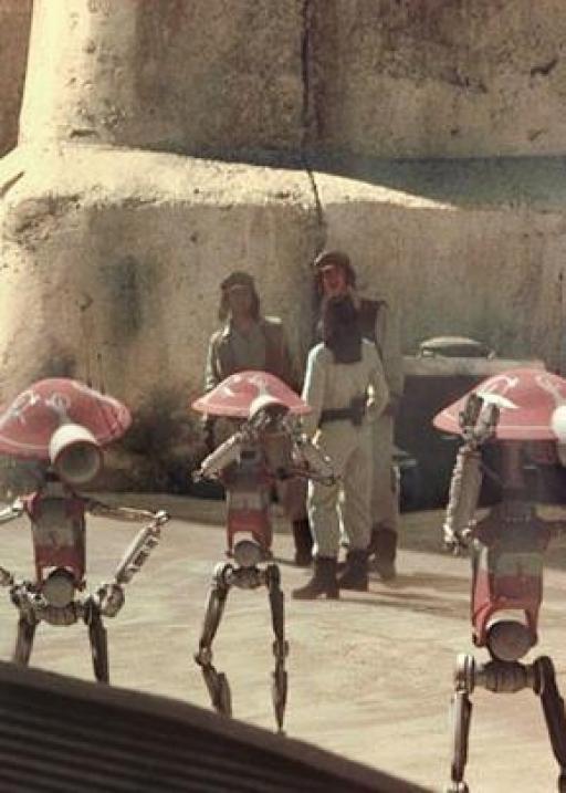 Des unités DUM sur Tatooine