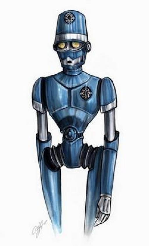 Un Droïde Policier.