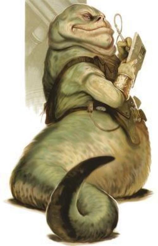 Un Hutt adulte.