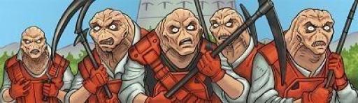 Ukiens en colère lors de la Guerre des Clones