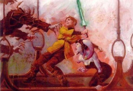 Anakin et Daeshara'Cor