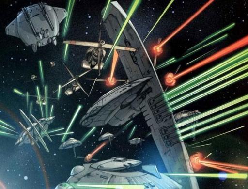 La contre-attaque de la Flotte du Noyau de Gar Stazi