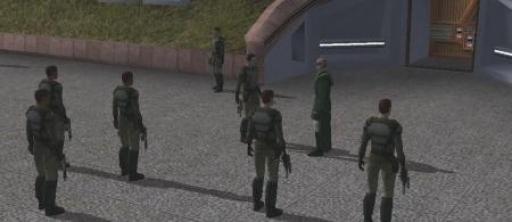 L'Exilée Jedi motive les membres de la Milice de Khoonda avec un discours enflammé