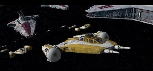 L'Escadron Shadow de la Grande Armée de la République.