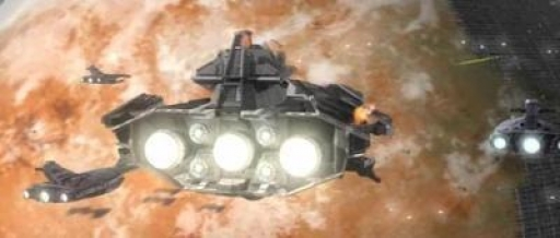Le Ravager fait le blocus de Telos et de la Station Citadelle pour débarquer ses forces