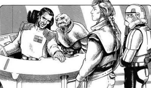 Thrawn rencontre la Main de l'Empereur