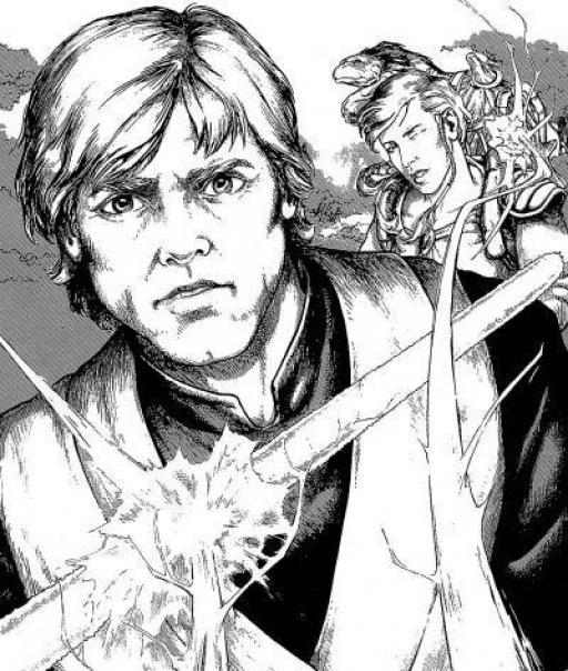 Luke retourne les éclairs de Force à leur envoyeur