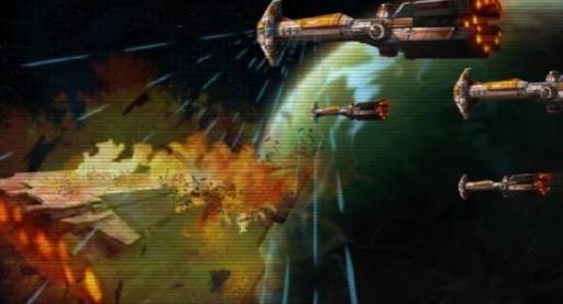 La flotte Républicaine rassemblée sur Bothawui repousse l'Armada Sith
