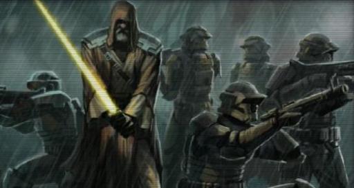 Belth Allusis et ses hommes prêts à mener leur dernier combat