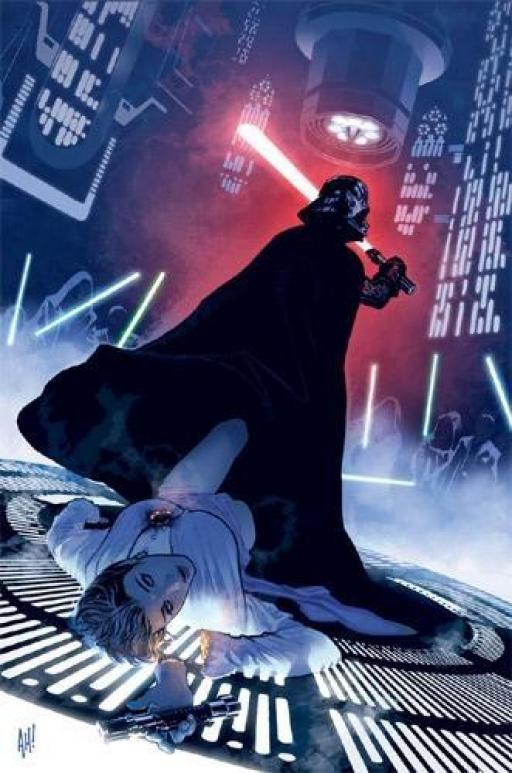 Darth Vader exécute la Purge Jedi