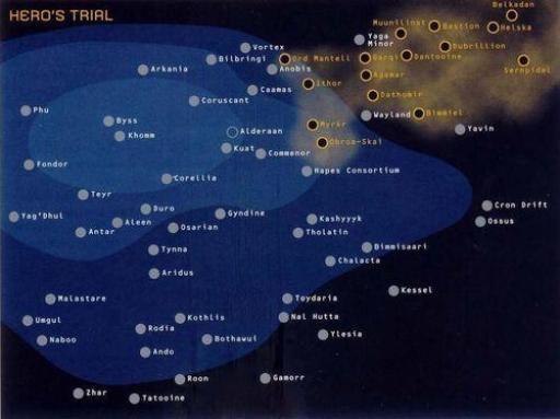 Etat de l'invasion à la suite de la Bataille de Bilbringi