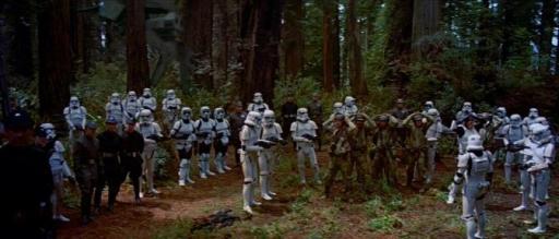 Les SpecForces Rebelles capturés par la Force Tempête