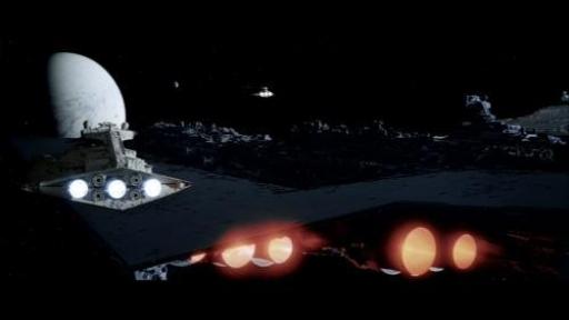 L'Executor retrograde trop près du système Hoth et donne l'alerte aux Rebelles