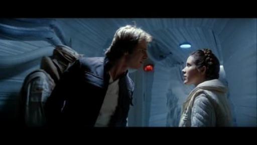 """Solo tente de faire avouer les """"sentiments"""" que la Princesse Leia a pour lui"""