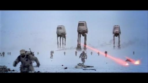 Les SpecForces Rebelles amorcent la retraite, sous les tirs impériaux