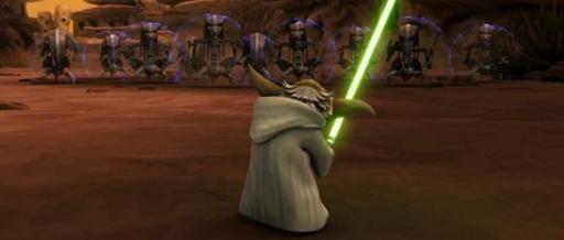 Yoda face aux droïdes