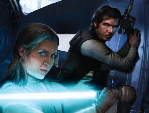 Leia Organa Solo et Han Solo