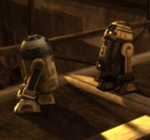 Duel de droïdes.