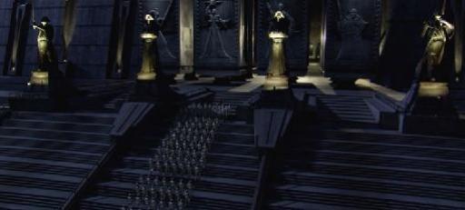 Les clones envahissent le temple.