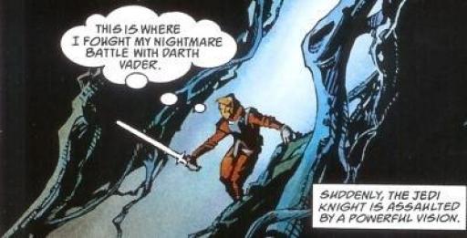 Luke de retour dans la grotte