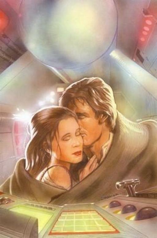 Le Général Han Solo et la Princesse Leia Organa.