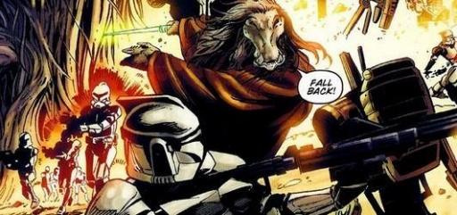 Le 416ème Corps d'Armée Stellaire et le Maître Jedi K'Kruhk sur Teyr.
