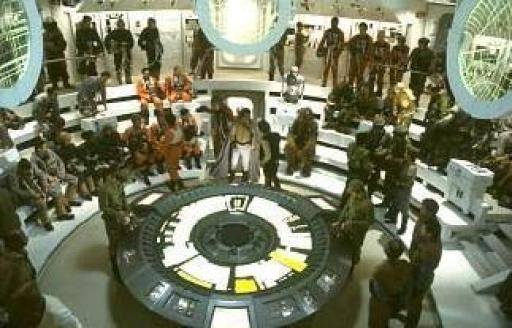 Briefing des Rebelles juste avant la Bataille d'Endor.