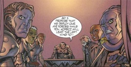 Kaan en Conseil de Guerre