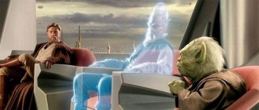Réunion du Conseil des Jedi pendant la Guerre des Clones