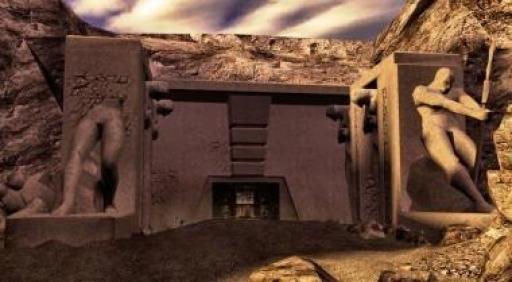L'entrée de l'Académie Sith de Korriban